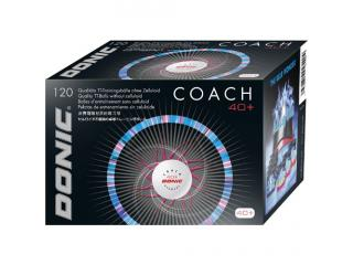 "DONIC ""Coach 40+ Cell-Free"" weiß/120"
