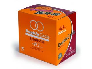 Double Circle Trainingsball Zelluloid 144er