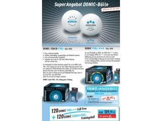 DONIC Ballpaket P40+ Cell-Free