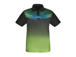 DONIC Polo-Shirt Boost lime/sw M