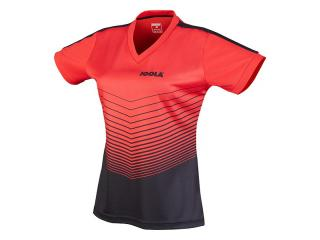 JOOLA Lady Shirt Move rot-schwarz