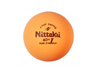 Nittaku J-Top Training 40+ orange 120 Stck.