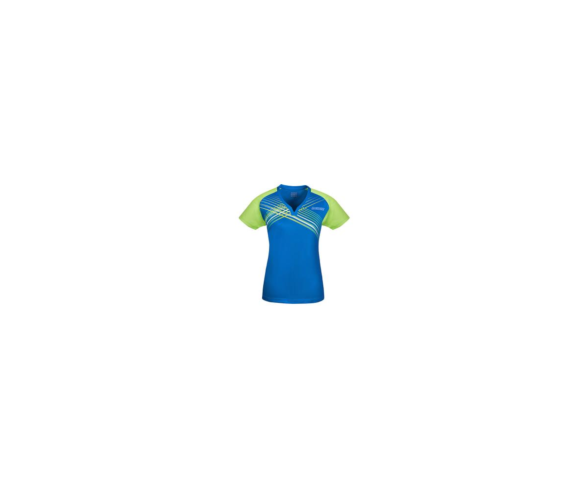 DONIC Ladies-Shirt Riva blau/lime