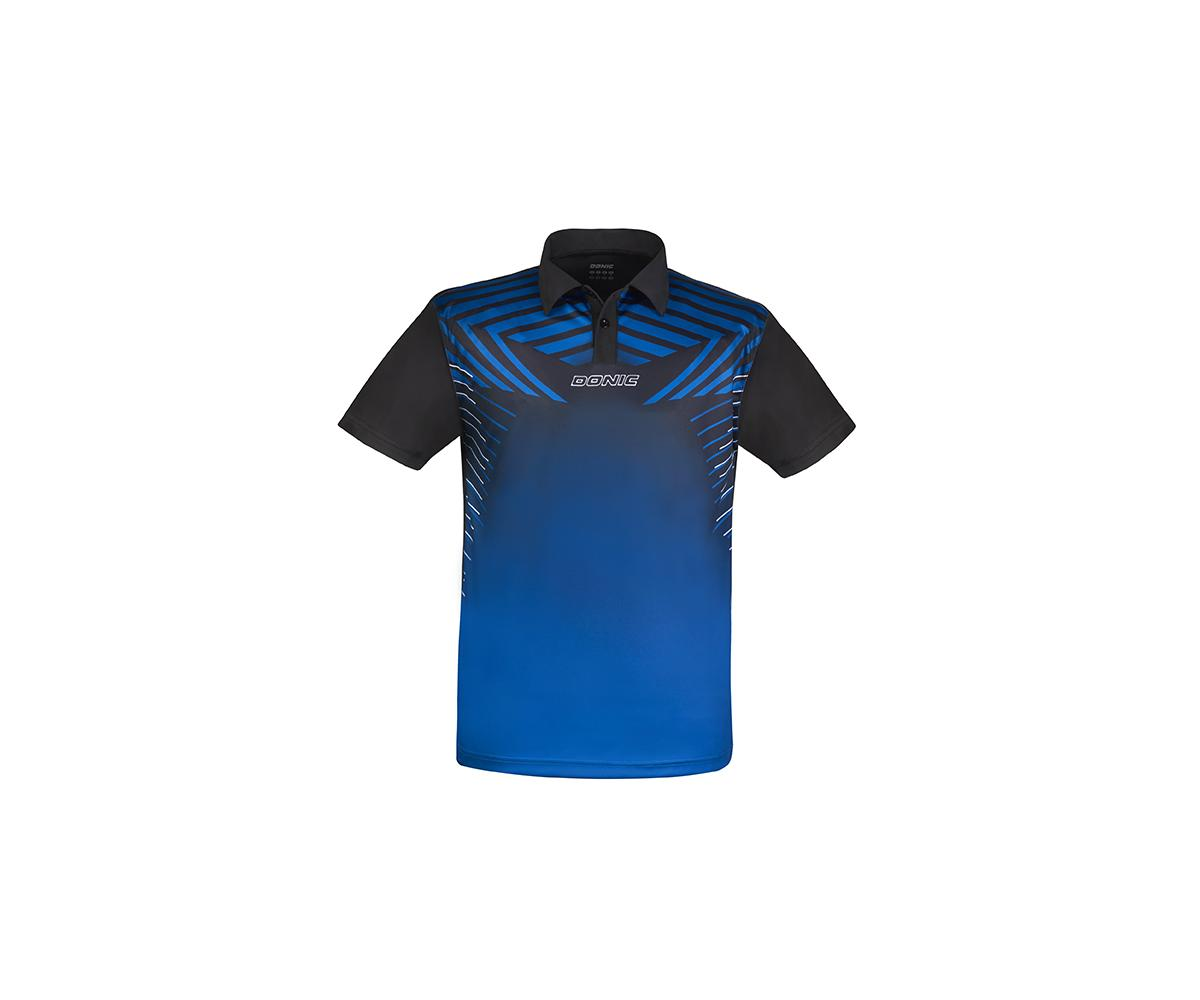 DONIC Polo-Shirt Boost blau/sw