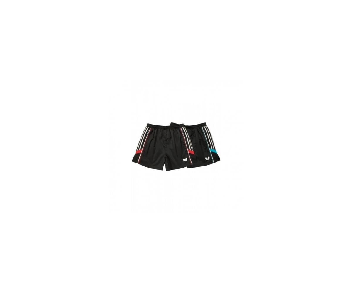 Butterfly Short Nash sw/weiss/rot L